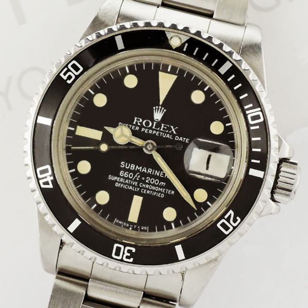 competitive price 74a23 1897d ROLEX ロレックス サブマリーナデイト Ref1680 Cal.1570 ...