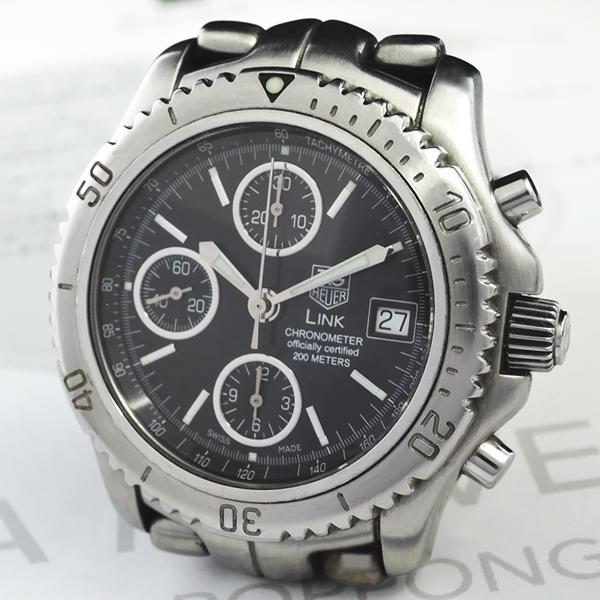 sale retailer 9e38f 82955 タグホイヤー TAG HEUER リンク CT5111 メンズ腕時計 200m 自動 ...