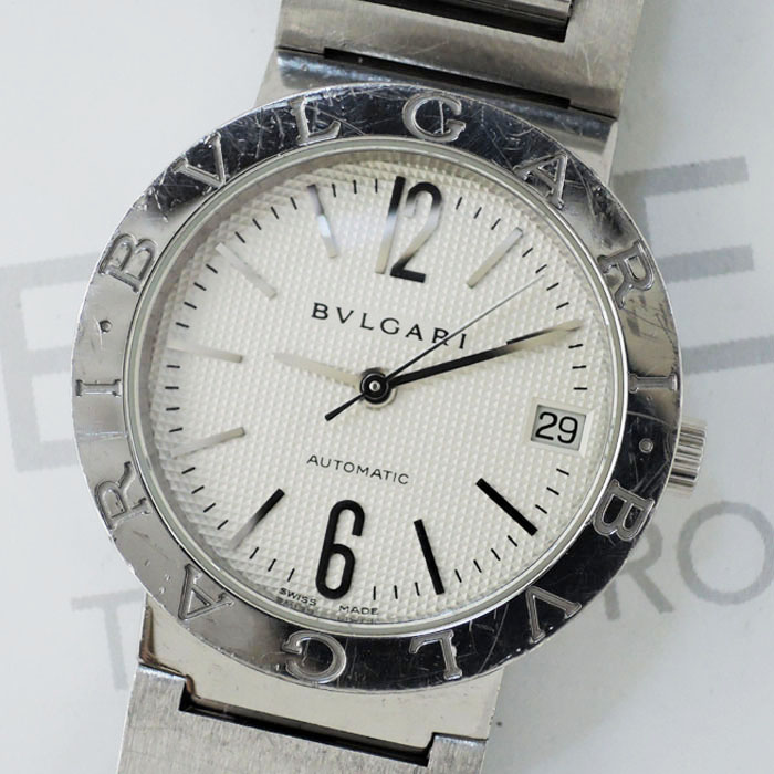 5370f089d373 ブルガリBVLGARI ブルガリブルガリ BB38SS 自動巻 メンズ 腕時計 シルバー文字盤 IW7364のイメージ画像